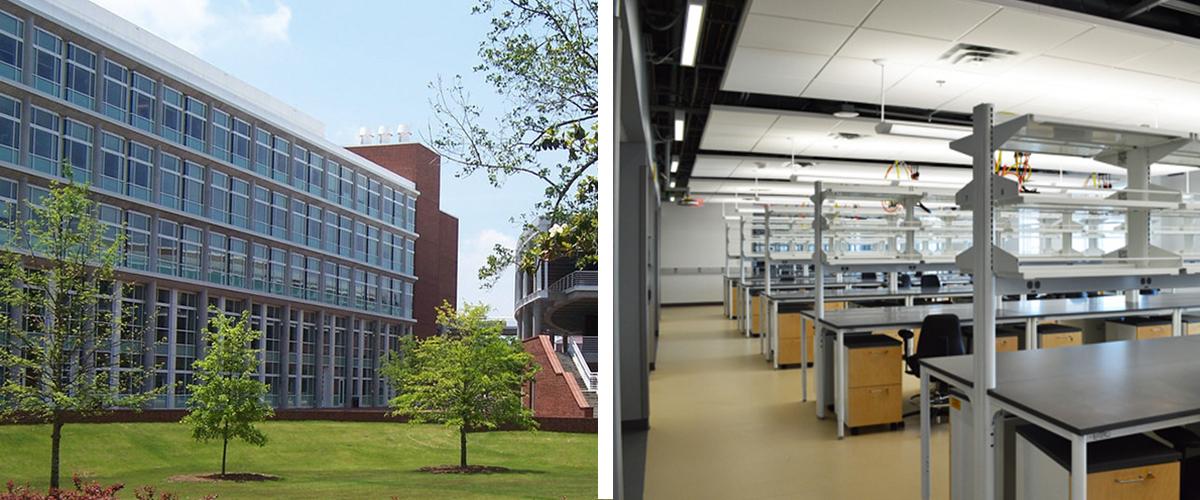 ECU Science & Technology Building