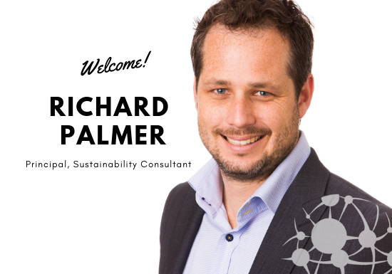 Welcome Richard Palmer