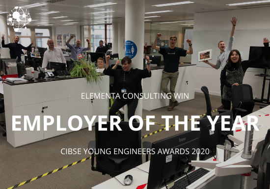 CIBSE 2020 Employer of the Year 2