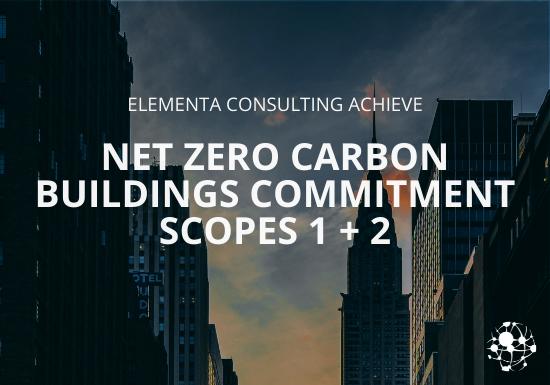 Net Zero Carbon Buildings Commitment